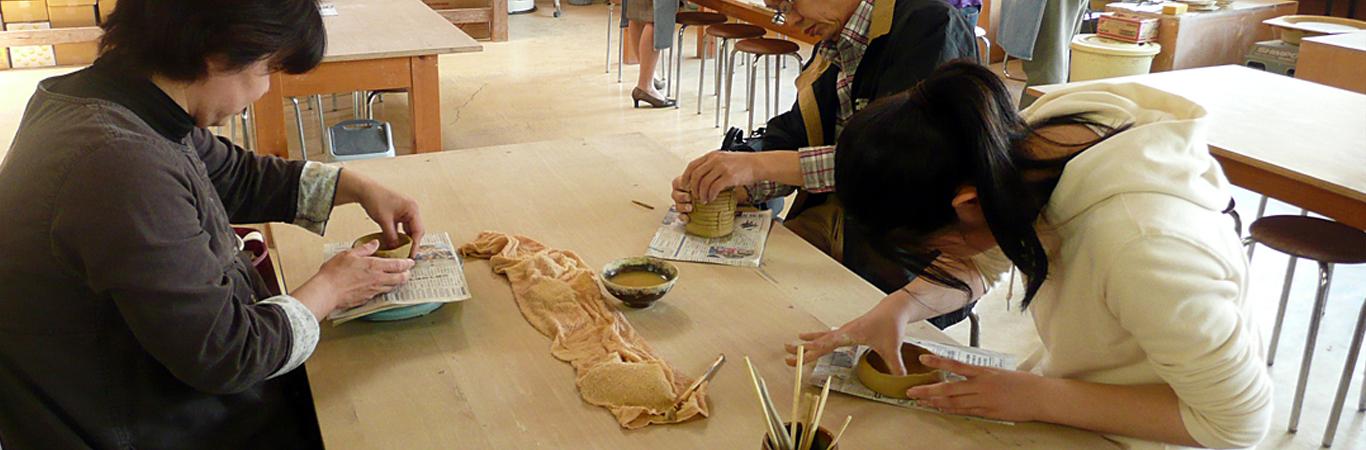 小砂焼-陶芸体験