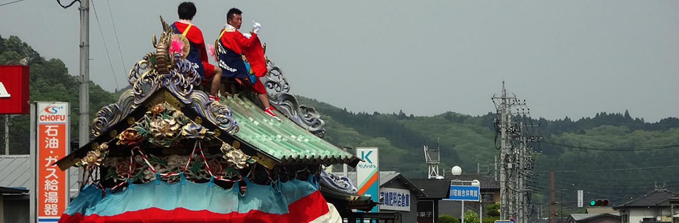 静神社-たけのこ祭り